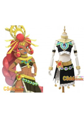 The Legend of Zelda Breath of the Wild Riju Cosplay Costume custom-size