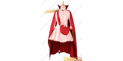 Fire Emblem Awakening Nah Cosplay Costum Pink Red Dress custom-size