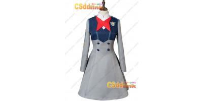 DARLING in the FRANXX Code 015 Mei Ichigo Uniform Dress Cosplay Costume custom-size