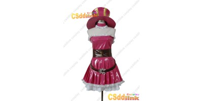 LOL league of legends Caitlyn Cosplay costume pink custom-size