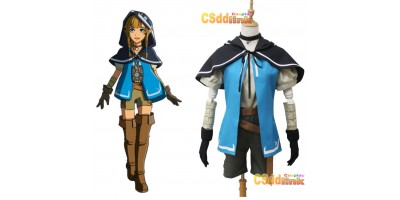 The Legend of Zelda Breath of the Wild Riju Cosplay Costume custom-size1