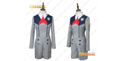 DARLING in the FRANXX Hiro Code 016 Uniform Cosplay Costume custom-size