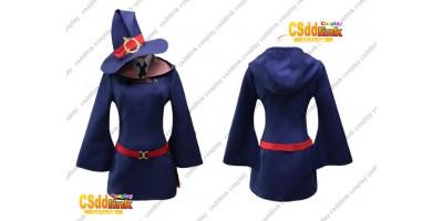 Little Witch Academia Atsuko Akko Kagari cosplay costume with hat custom-size
