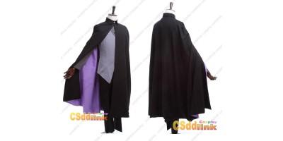 Naruto Boruto Sasuke Uchiha cosplay costume with cape custom-size