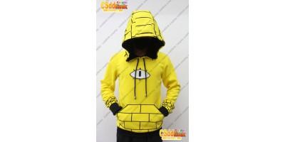 Gravity Falls bill Cipher Human Cosplay Hoodie Costume Ver 1 custom-size