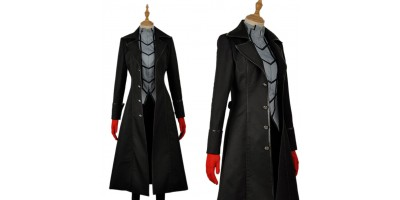 Persona 5 Kaitou Cosplay Costume with gloves custom-size
