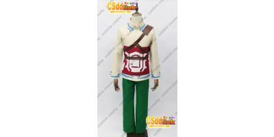 The Legend of Zelda Skyward Sword Skyloft Link Cosplay Costume custom-size
