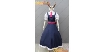 Miss Kobayashi's Dragon Maid Tohru Cosplay Costume with Tail custom-size
