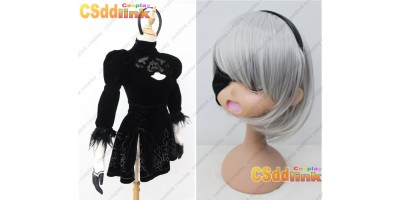 NieR Automata YoRHa No.2 Type B Cosplay Costume custom-size