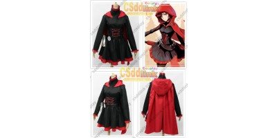 RWBY Ruby Rose Cosplay Costume custom-size