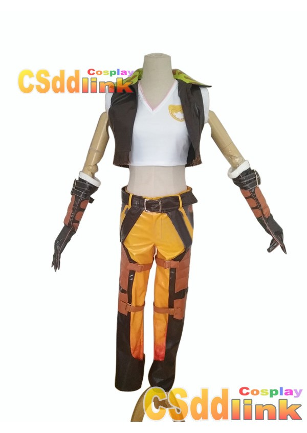 Overwatch D.VA Legendary Junker Cosplay costume custom-size