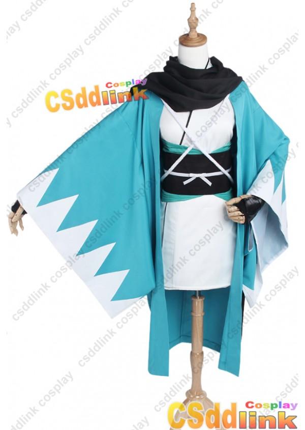 Fate grand order Okita Soji cosplay costume custom-size