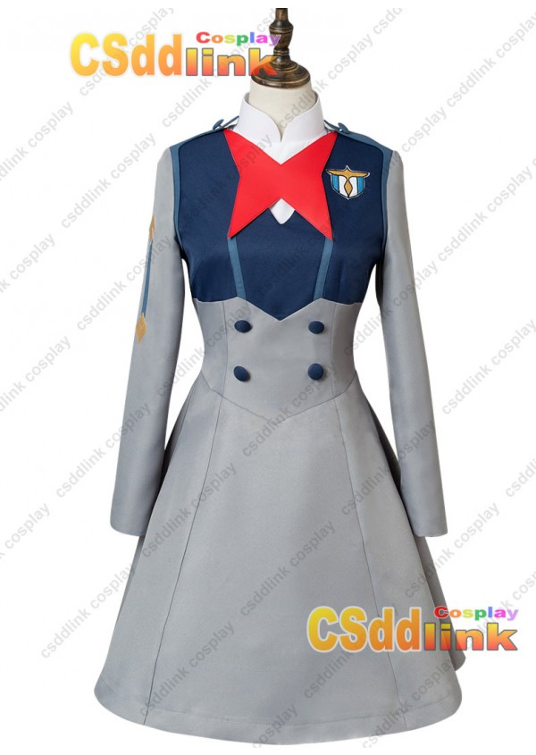 DARLING in the FRANXX Code 015 Mei Ichigo Uniform Dress Cosplay Costume custom-size