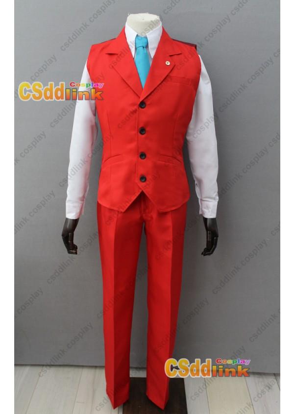 Phoenix Wright Ace Attorney Apollo Justice Cosplay Costume custom-size