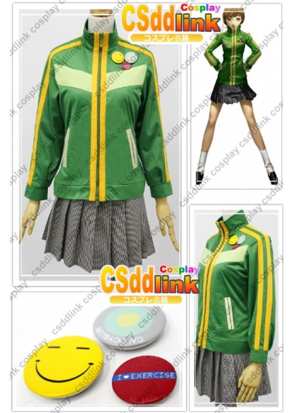 Persona 4 Chie Satonaka Cosplay Costume custom-size