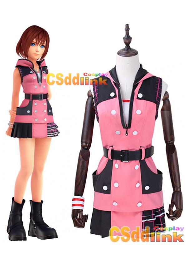 Kingdom Hearts III 3 kairi Cosplay costume custom-size