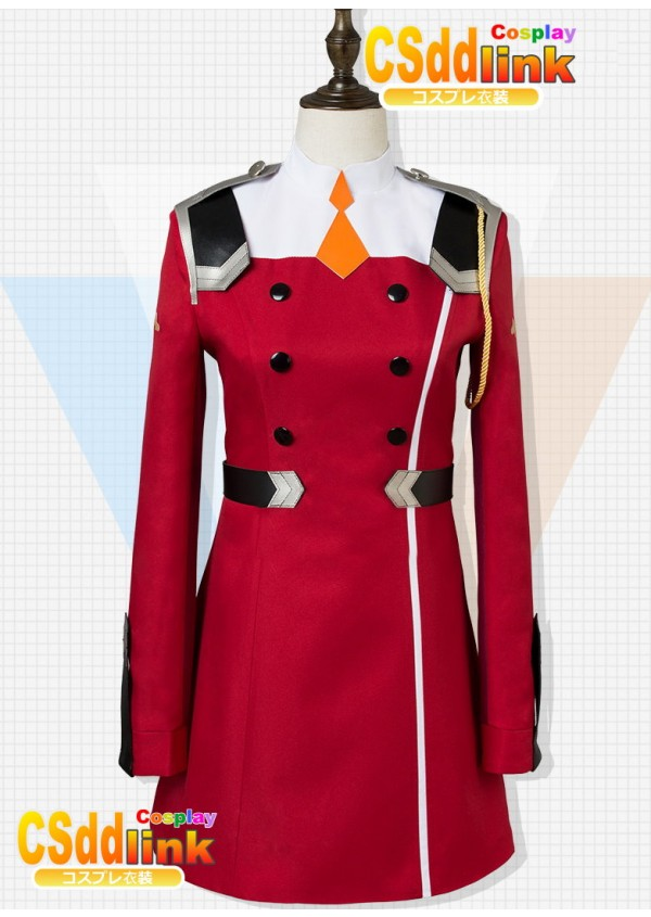 DARLING in the FRANXX Zero Two Code002 cosplay costume red uniform custom-size